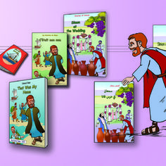 Stories of Simon - A hard copy of one book of my series, in either English or French or Arabic language.