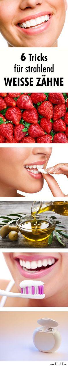 Kostenlos strahlend weiße Zähne: Wer diese Tipps verfolgt, kann richtig viel Geld sparen.