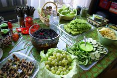 Shrek party - lots of food and decor ideas
