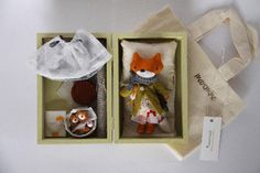 Image of Mini fox set Bonni (Cute but 140 pounds!!!)