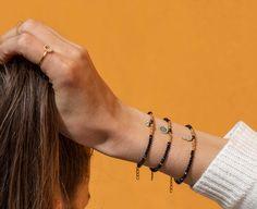 Shop Beaded Hand Bracelet at e&e Gold Plated Bracelets, Gold Plated Necklace, Sterling Silver Bracelets, Crystal Necklace, Bangle Bracelets, Bangles, Hand Bracelet, Evil Eye Charm, Bridesmaid Bracelet
