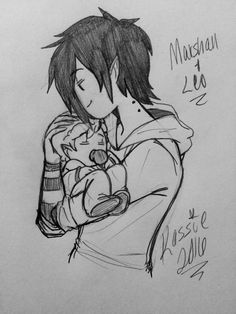 I absolutely love 's drawings with Gumlee and their love child Leo~! So I HAD to draw something cute with Marshy holding his baby boy and spending some. Father and son ~ Watch Adventure Time, Marshall Lee Adventure Time, Cartoon Network Adventure Time, Adventure Time Anime, Time Cartoon, Cartoon Movies, Marshall Lee X Prince Gumball, Abenteuerzeit Mit Finn Und Jake, Marceline And Bubblegum