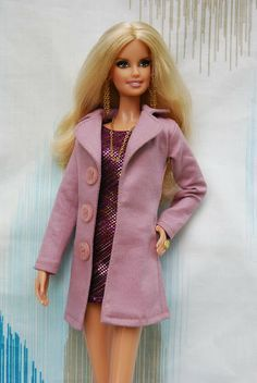 Nenca - Barbie coat pattern