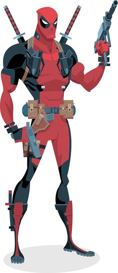 Deadpool - Dan Mora