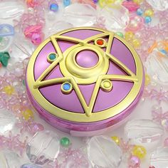 CDJapan : Sailor Moon R Moonlight Memory Crystal Star Mirror Case Collectible