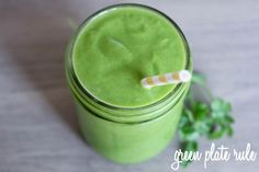 Pineapple Cilantro Green Smoothie ~  3/4 cup water juice of 1 lime 1 cup greens (kale or spinach) 1 cup of pineapple chunks 1/4 of an avocado 1/4 cup of cilantro pea size amount of ginger