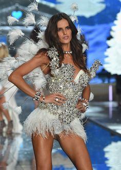 Runway photos from the Victoria's Secret Fashion Show 2015.