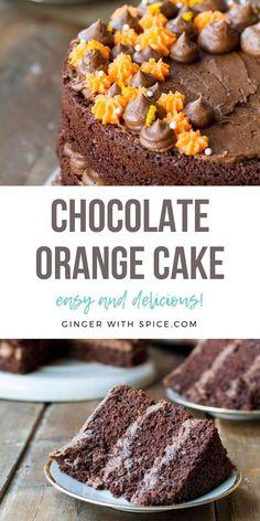 Brownie Recipes, Cupcake Recipes, Chocolate Recipes, Cupcake Cakes, Snack Recipes, Dessert Recipes, Cupcakes, Snacks, Orange Cake Recipe From Scratch