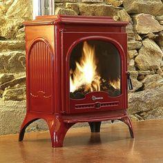 Eight beautiful red wood-burning stoves. http://blog.gr8fires.co.uk/2014/02/12/8-beautiful-red-wood-burning-stoves/?utm_source=Social&utm_medium=Social #woodburners
