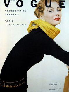 Vogue cover, with Suzy Parker Vogue Magazine Covers, Fashion Magazine Cover, Fashion Cover, Women's Fashion, Vintage Vogue Fashion, Vintage Vogue Covers, Suzy Parker, Jean Shrimpton, Vintage Fashion Photography