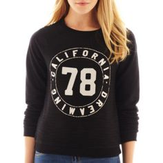 MNG by Mango® Long-Sleeve California Dreaming Sweatshirt  found at @JCPenney