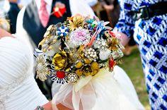 GiGi Brooch Bouquet.  available at www.bluebirdbridal.etsy.com