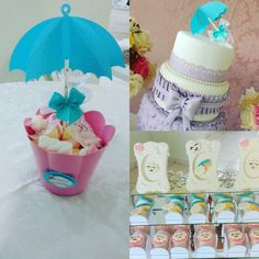 Baby Shower Themes, Baby Boy Shower, Rain Baby Showers, Ideas Para Fiestas, Candy Table, Birthday Party Themes, Alice, Birthdays, Diy And Crafts