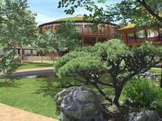 Vitaness Earth Buildings for healing and body healing spaces