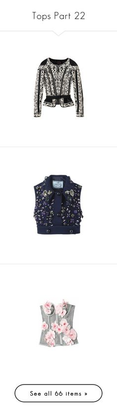 """Tops Part 22"" by allison-epps ❤ liked on Polyvore featuring outerwear, jackets, tops, blazers, blazer jacket, vests, blue vest, vest waistcoat, blue waistcoat and corsets"