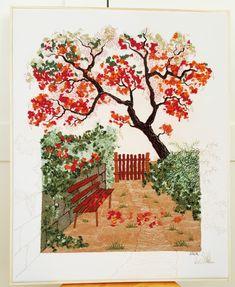 """""""Gartenbank"""", 40 x 50 cm"""