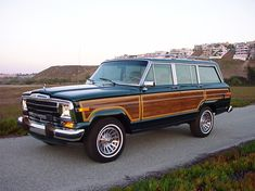 Jeep Grand Wagoneers - Full, Professional, Ground up Restorations. The finest, better-than-new Jeep Grand Wagoneers in the World Jeep Wagoneer, My Dream Car, Dream Cars, Trailers, Old Jeep, Off Road, Vintage Trucks, Vintage Jeep, Us Cars