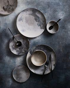 The Prop Dispensary Styling Kirsty Bryson Photography Georgia Gold Ceramic Tableware, Ceramic Vase, Ceramic Pottery, Pottery Art, Blog Deco, Pottery Painting, Diy Clay, Wabi Sabi, Resin Art