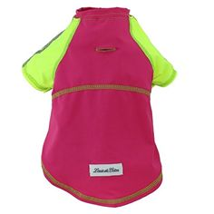 Louie de Coton Made in USA Limited Edition Pet Cooling UPF50 Sun Protection Silk Weight Tshirt Small Fuschia -- Read more reviews of the product by visiting the link on the image.