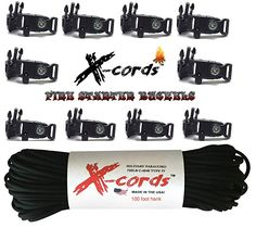 Build Your Crafting Stocking Stuffer with The Necessary Basics PARACORD PLANET Crafting Essentials WindIt Wizard Cord Keepers 95 275 3//8 Buckles 425 550 Paracord