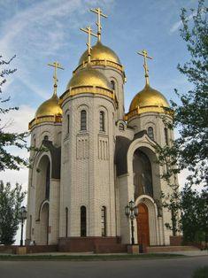 Church of All Saints. Mamayev Kurgan, Volgograd, Russia.