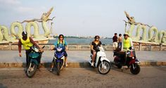 Motorbike tour in Hanoi - Private Tour. The first impression of foreigners when arriving in Hanoi is full of motorbike. It is the main vehicle of people here.