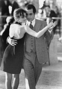 Al Pacino and Gabrielle Anwar