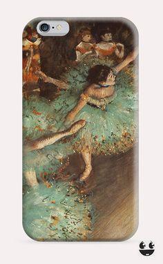 iPhone Case iPhone 4 Case & iPhone 4S, Case iphone 5 Case & iPhone 5S Case, iPhone 5C Case, iPhone 6 Case & iPhone 6, Plus  The Green Dancer - Edgar Degas