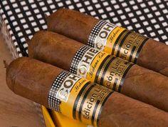 smoke a cuban cigar