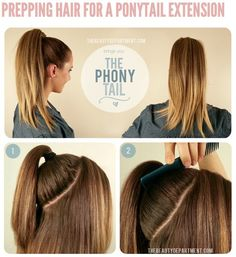 Ponytail Extention