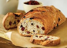 I found this recipe for Artisan Multigrain Bread with Fruit and Nuts, on Breadworld.com. You've got to check it out!