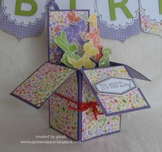 Gina's Little Corner of StampinHeaven: February Stamp of the Month Blog Hop - Balloon Animals