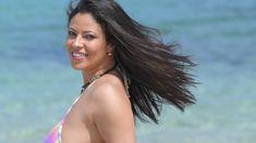 Fabiana Britto playmate, shooting glamour in Sardegna sul set del fotogr. Playboy, Fashion Photography, Glamour