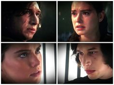 """theboywhocan11: """"renpressrey: """"I look at Rey and Kylo looking at each other and all I see is longing, honesty and genuine heartbreak. No manipulation, no hate or malice. These are just two people who have begun to care deeply for each other and who..."""