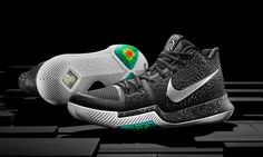 """Nike kyrie 3 """"black ice"""" set to release on december Casual Sneakers, Air Max Sneakers, Sneakers Nike, Casual Shoes, Adidas Shoes, Sneakers Fashion, Basketball Sneakers, Nike Basketball, Basketball"""