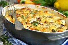 Lasagne di patate, gorgonzola e mozzarella di bufala - Fidelity Cucina