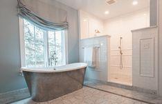 Lyon - Columbus, Ohio — Nicholson Builders Master Bath Shower, Columbus Ohio, Bath Remodel, Clawfoot Bathtub, Lyon, Bathroom, Washroom, Master Bathroom Shower, Bathroom Remodeling