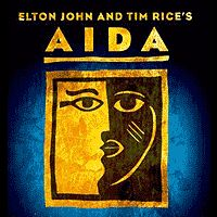 Elton John and Tim Rice's Aida - it's been way too long since this show's been in town.  Gorgeous staging, beautiful music.