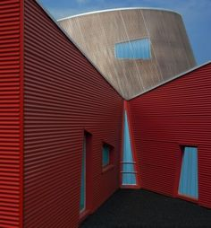 Red and blue by Fernand Hick