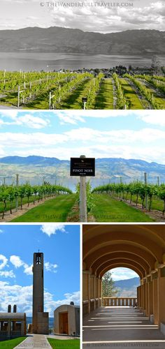 A legendary wine tour at Mission Hill Winery Mission Hill Winery grounds & architecture via http://TheWanderfullTraveler.com