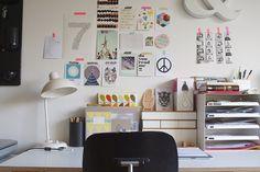 workspace by Trixi - frausieben, via Flickr