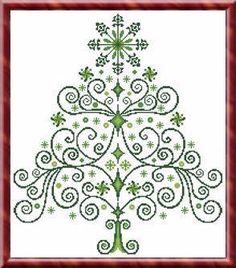 Christmas Tree 2 - Cross Stitch Pattern