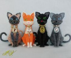Cats hand made (12)