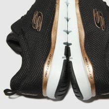 skechers flex appeal 3.0 black and bronze
