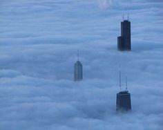 Chicago/Hancock, Trump, Sears. Just wow.