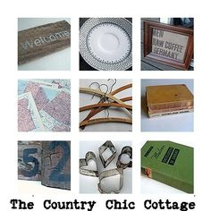 Have a hunger for vintage chic? Go shopping Country Chic Cottage