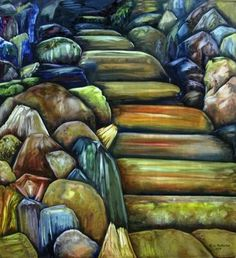 Eldorado, Oil Painting by M-J de Mesterton ©2007