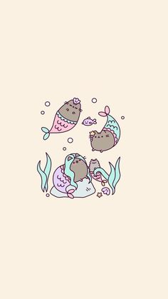 Imagem de art, neko, and pusheen cat