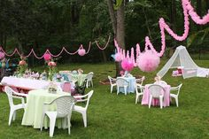 Garden fairy party--beautiful  (great party website)