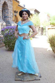 Jasmine of Fairytale Events! Invite this beautiful princess to your next princess party in Arizona!  #princessparty #jasmine #disneyprincess